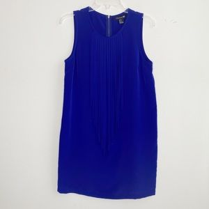 Forever21 blue dress with fringe size M